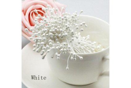 Тычинка для цветов белая
