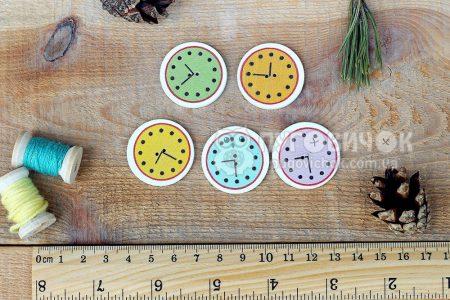 """Пуговица """"Часы"""" 30мм"""