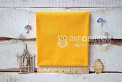 Тканина польська однотонна жовта
