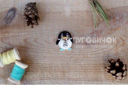 "Пуговица ""Пингвин"" 25*24мм"