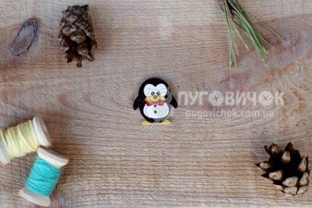 """Гудзик """"Пінгвін"""" 25*24мм"""