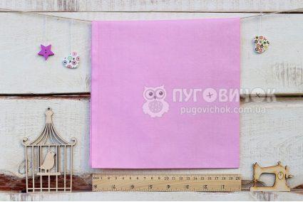 Ткань однотонная розовая2