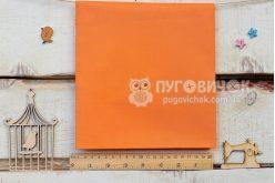 Ткань польская однотонная оранжевая