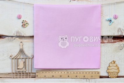 Ткань однотонная светло-розовая