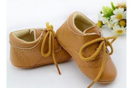 """Взуття """"Черевики"""" світло-коричневі 10,8см"""