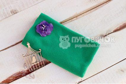 Фліс зелений