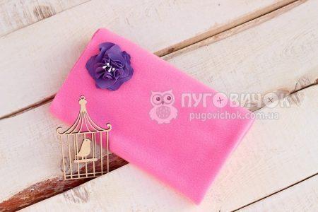 Фліс рожевий