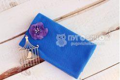 Фліс синій