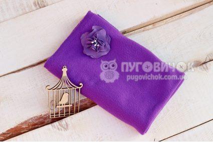 Флис фиолетовый