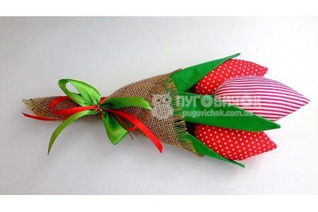 Тюльпани текстильні в асортименті