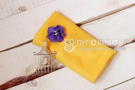 Флис жёлтый
