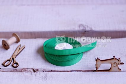 Стрічка репсова 1,2 см в асортименті