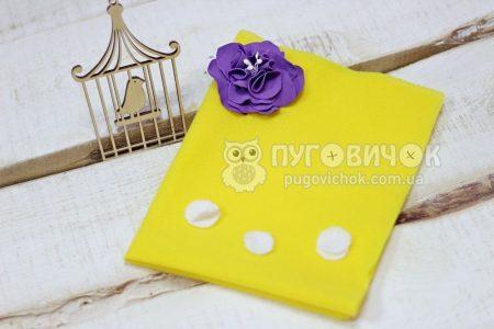 Велькротканина жовта