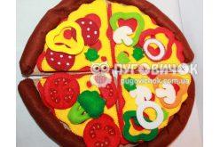 Ігровий набір з фетру «Піца»
