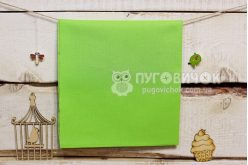 Тканина польська однотонна світло-зелена