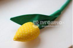 Тюльпани текстильні жовті в асортименті