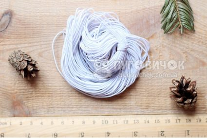 Резинка еластична кругла 1 мм