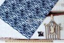 Фетр корейский жесткий с узором зебра