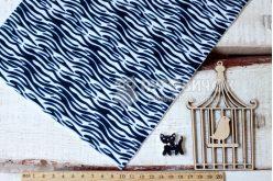 Фетр корейський жорсткий з візерунком зебра