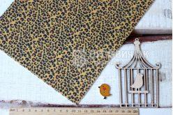 Фетр корейський жорсткий з візерунком леопард