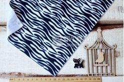 Фетр корейський м'який з візерунком зебра