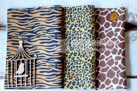 Фетр корейский мягкий с узором леопард