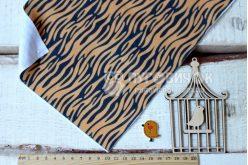 Фетр корейський м'який з візерунком тигр