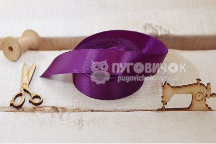 Стрічка атласна 2,5см в асортименті