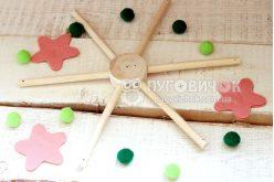 Крестовина для мобиля деревянная