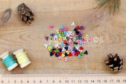 """Пуговица """"Треугольник"""" 06мм пластиковый"""