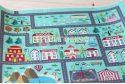 """Фетр 2мм з малюнком """"Карта доріг: Місто"""""""