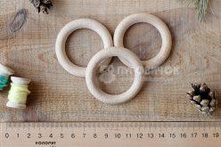 Кільце дерев'яне букове 53мм