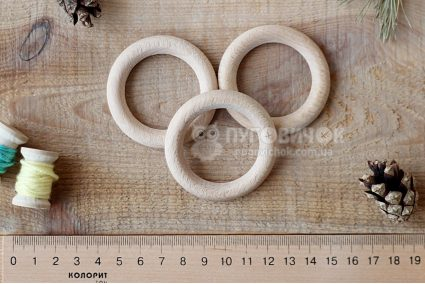 Кольцо древянное буковое 53мм