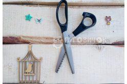 """Ножиці фігурні """"Зиг-заг"""" 5мм, 240мм"""