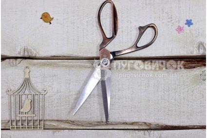 Ножиці прямі бронзові 200мм