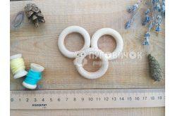 Кольцо деревянное буковое 42мм