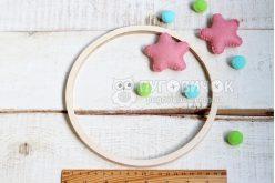 Кольцо деревянное (фанерное) для мобиля 20 см