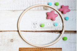 Кольцо деревянное для мобиля 24 см