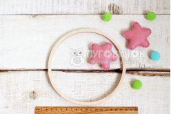 Кольцо деревянное для мобиля 16 см
