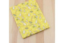 Ткань жёлтая ассорти 50*50см зонтики