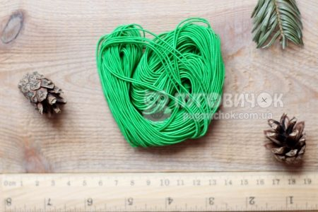 Резинка еластична кругла 1 мм (25м)