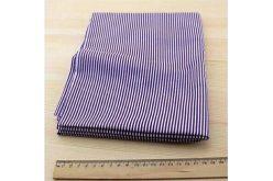 Тканина фіолетова асорті 50*50см смужка біла