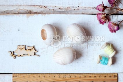 """Заготовка для декора """"Яйцо деревянное"""""""