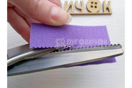 """Ножиці фігурні """"Хвиля""""в асортименті"""