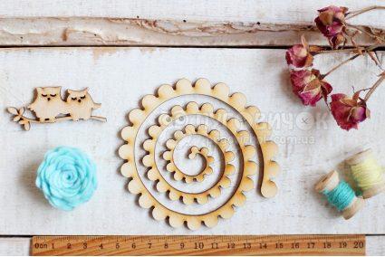 """Шаблон дерев'яний """"Заготовка для квітки"""" маленькі пелюстки"""