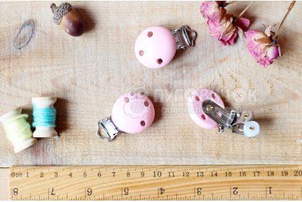 Клипса-держатель для соски, игрушки 44*29мм в ассортименте