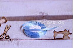 Стрічка атласна 0,64см (бобіна) в асортименті