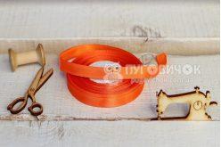 Стрічка атласна 1,2см (бобіна) в асортименті
