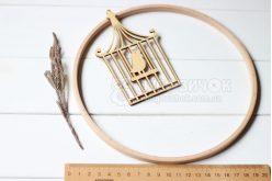 Кільце дерев'яне для мобілю 20 см Nurge