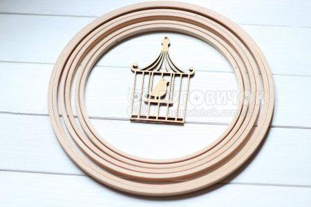Кольцо деревянное для мобиля 25 см Nurge